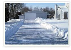 Commercial and Residential Snow Plowing - Snow Removal - Rooftop Snow Removal - Sanding - Icing